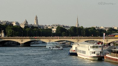 The Pont d'Iena and River Seine