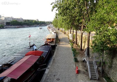 River Seine and boats