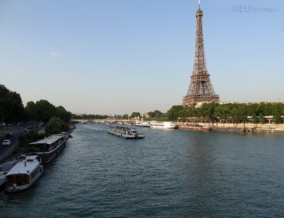 River Seine to the Eiffel