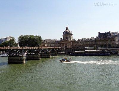 Pont des Arts, River and Institut de France