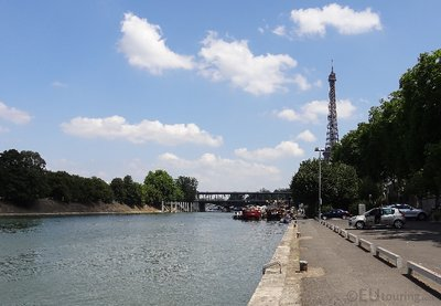 Peaceful view of the River Seine