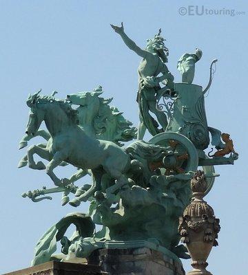 Quadriga statue at Grand Palais