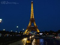 Eiffel Tower At Night from Pont d'Lena