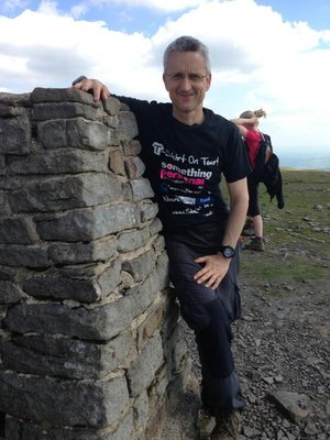 3 Peaks, Ingleborough - T-Shirt On Tour