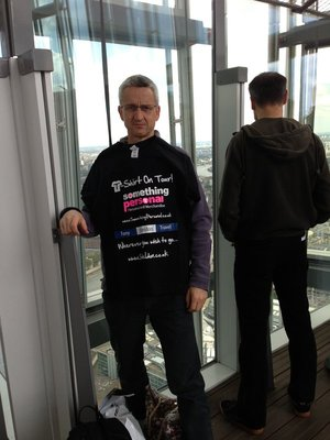 T-Shirt On Tour - The Shard, London May 2013