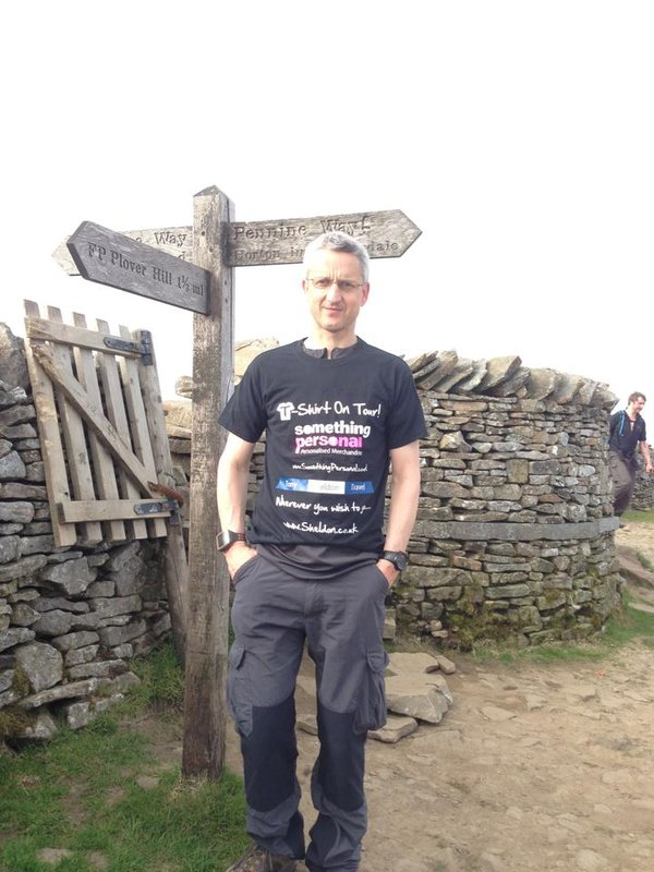 3 Peaks, Pen-Y-Ghent - T-Shirt On Tour