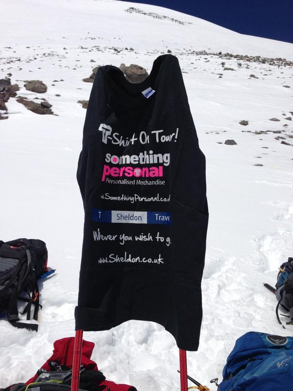 T-Shirt On Tour Mount Elbrus, Russia