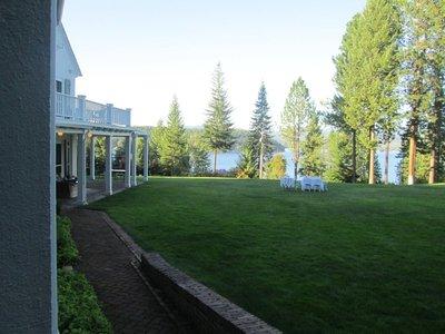 Clark House lawn