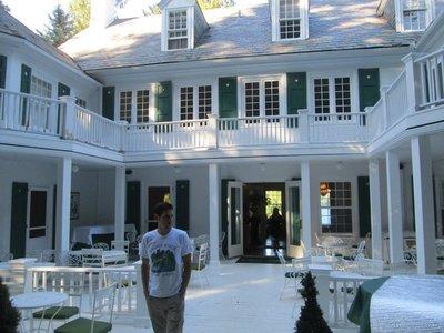Saul Chessin at the Clark House
