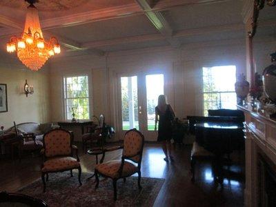 Clark House lobby