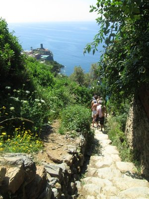 Cinque Terre National Park Hiking Trail