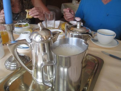 Breakfast at the Hotel Walter
