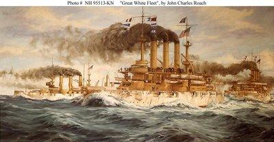 Great White Fleet by John Charles Roach
