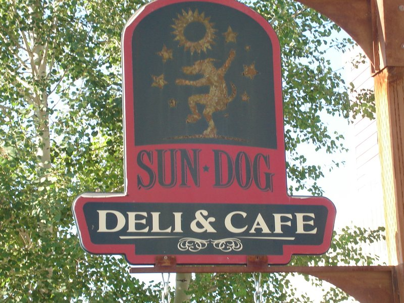 The Sun Dog Cafe, Victor, Idaho
