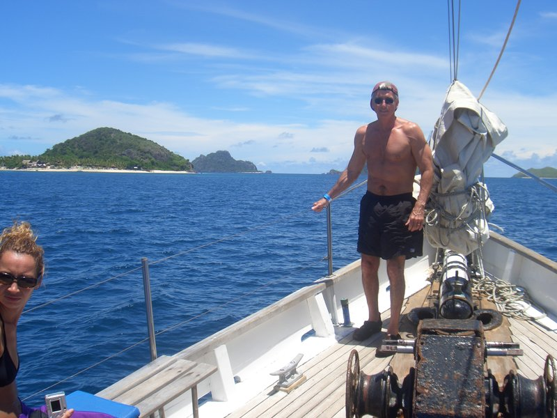 Fiji Sail on Seaspray to Madriki