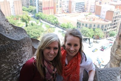 Top of Sagrada Familia