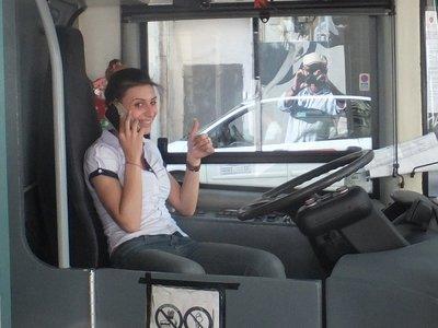 Roman bus driver!