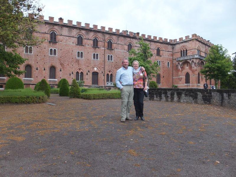 Brolio Castle, home of Baron Bettino Ricasoli