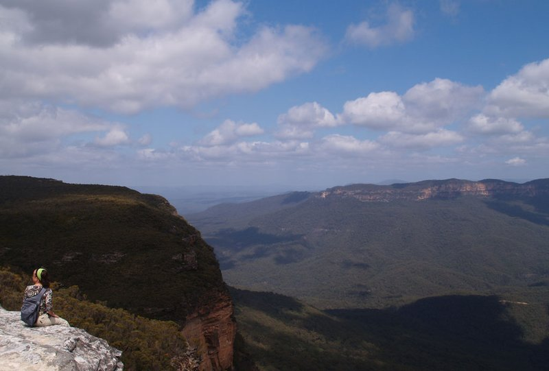 Blue Mountains - a lovely view
