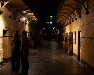Melbourne Gaol - The real prisoner cell block H