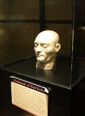 Melbourne Gaol - Ned Kelly's Deathmask