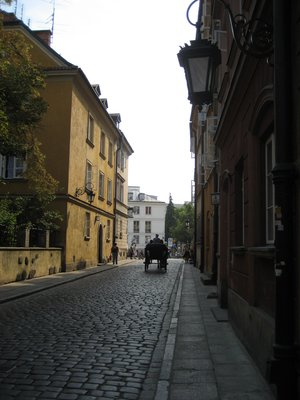Warsaw Old Town side street
