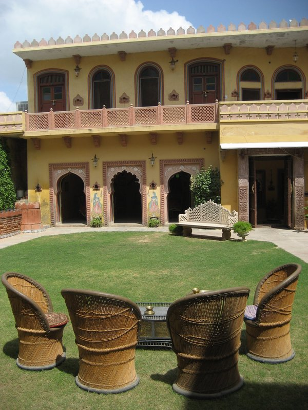 The Ravla Bhenswara courtyard