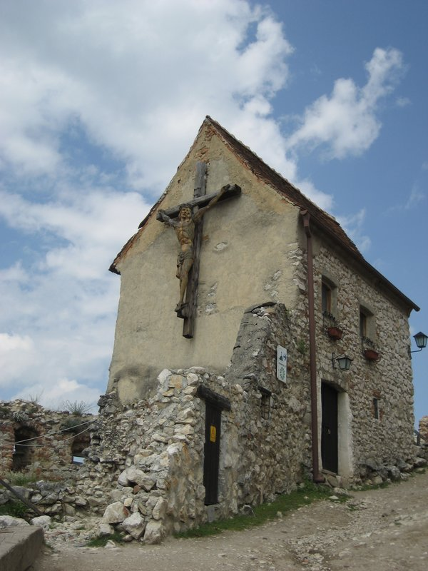Church, Rasnov Castle