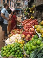 Street stall, Bhaktapur
