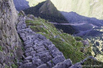 Climbing Waynu Picchu