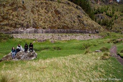 D 35-Cumbemayo Ancient Wall, pre-Inca