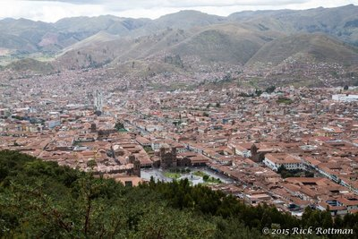 Day 43-Cusco from Sacsaywamán_