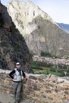 Day 44- Ollantaytambo South-west View