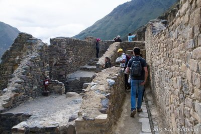 Day 44- Ollantaytambo Lots of Visitors