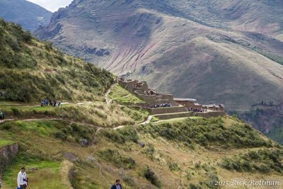 Day 44- Pisac Ruins From the Condor's Head