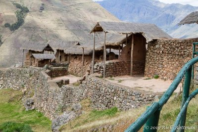 Day 44- Pisac Dwellings