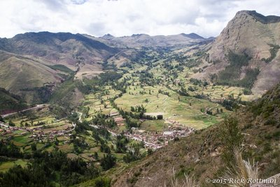 Day 44- Sacred Valley from Pisac Ruins