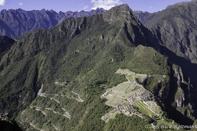 Machu Picchu from the North