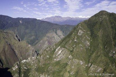Waynu Picchu, looking West