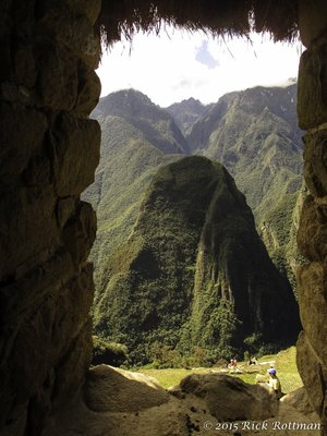 Waynu Picchu, Framed