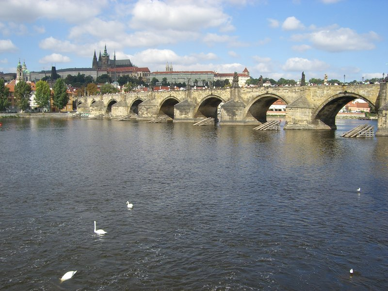 Historical Charles Bridge