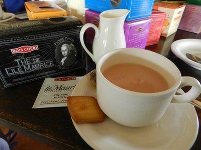 Teeverkostung Bois Cheri