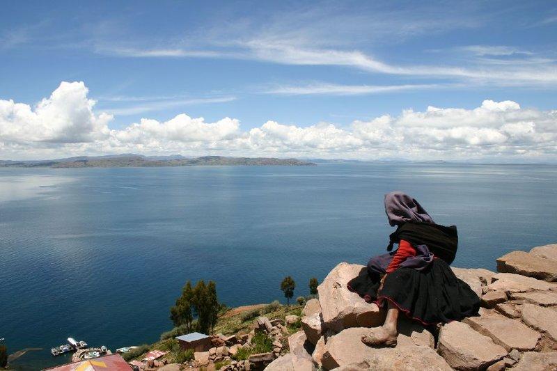 Amantani Island in Puno