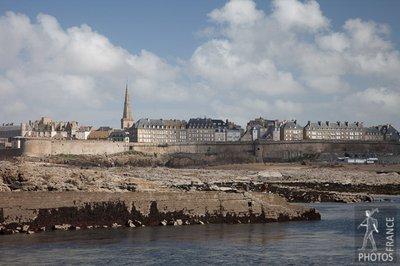 Saint Malo cityscape