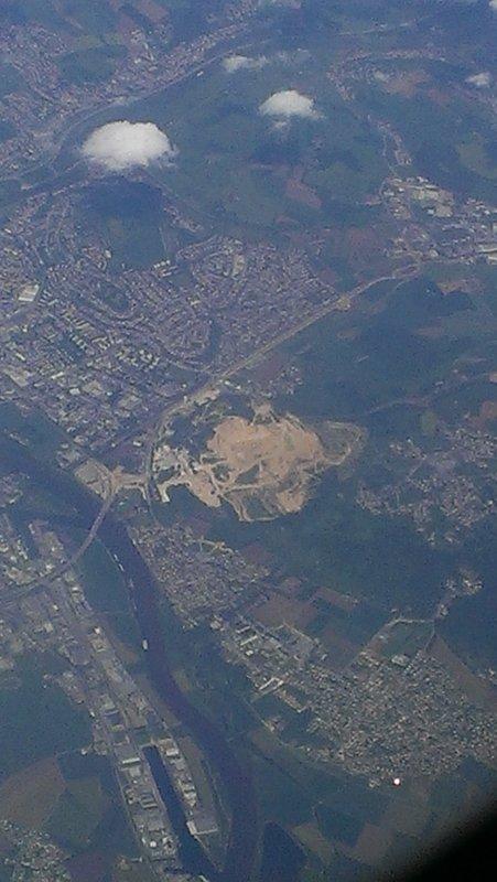Aerial view near Berlin