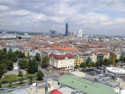 Vienna from the Ferris Wheel
