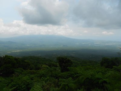 A View from Mayon Rest House