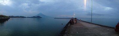 Embercadero after sunset