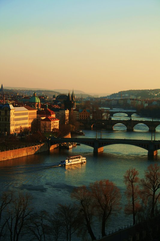 Charles bridge and Prague