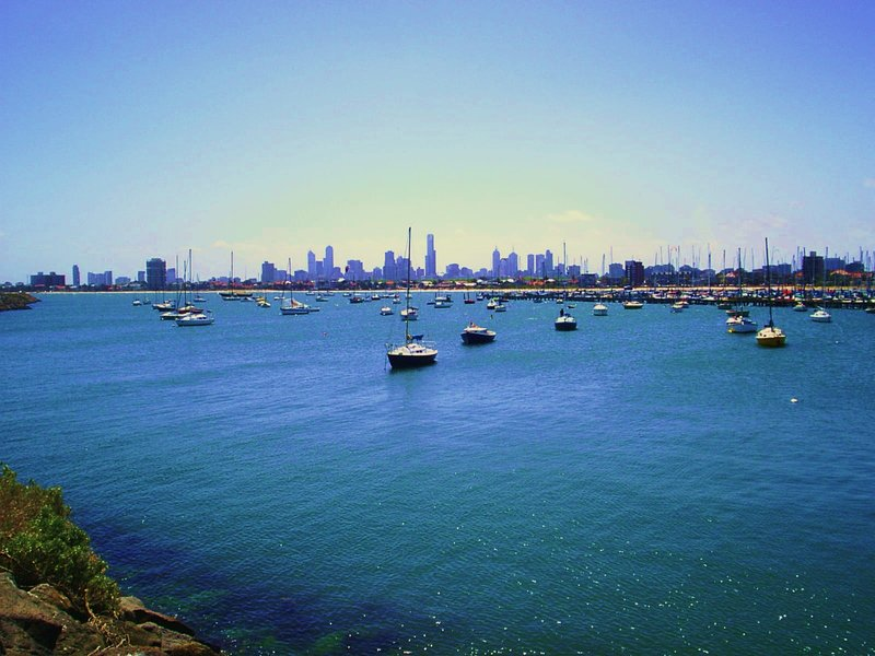 Melbourne harbour